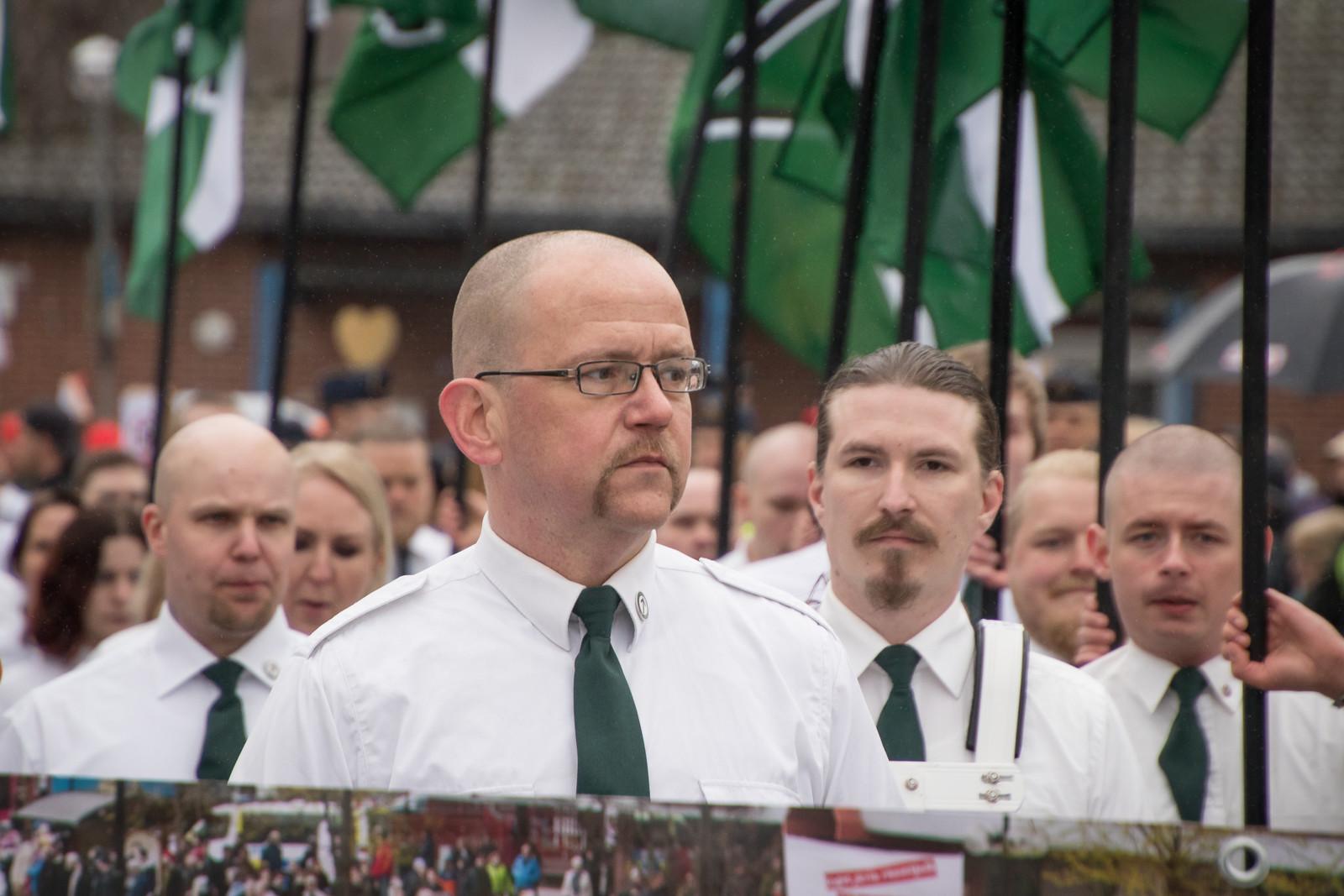 Riksmedlem och lokalpolitiker Pär Öberg, 1:a maj 2018