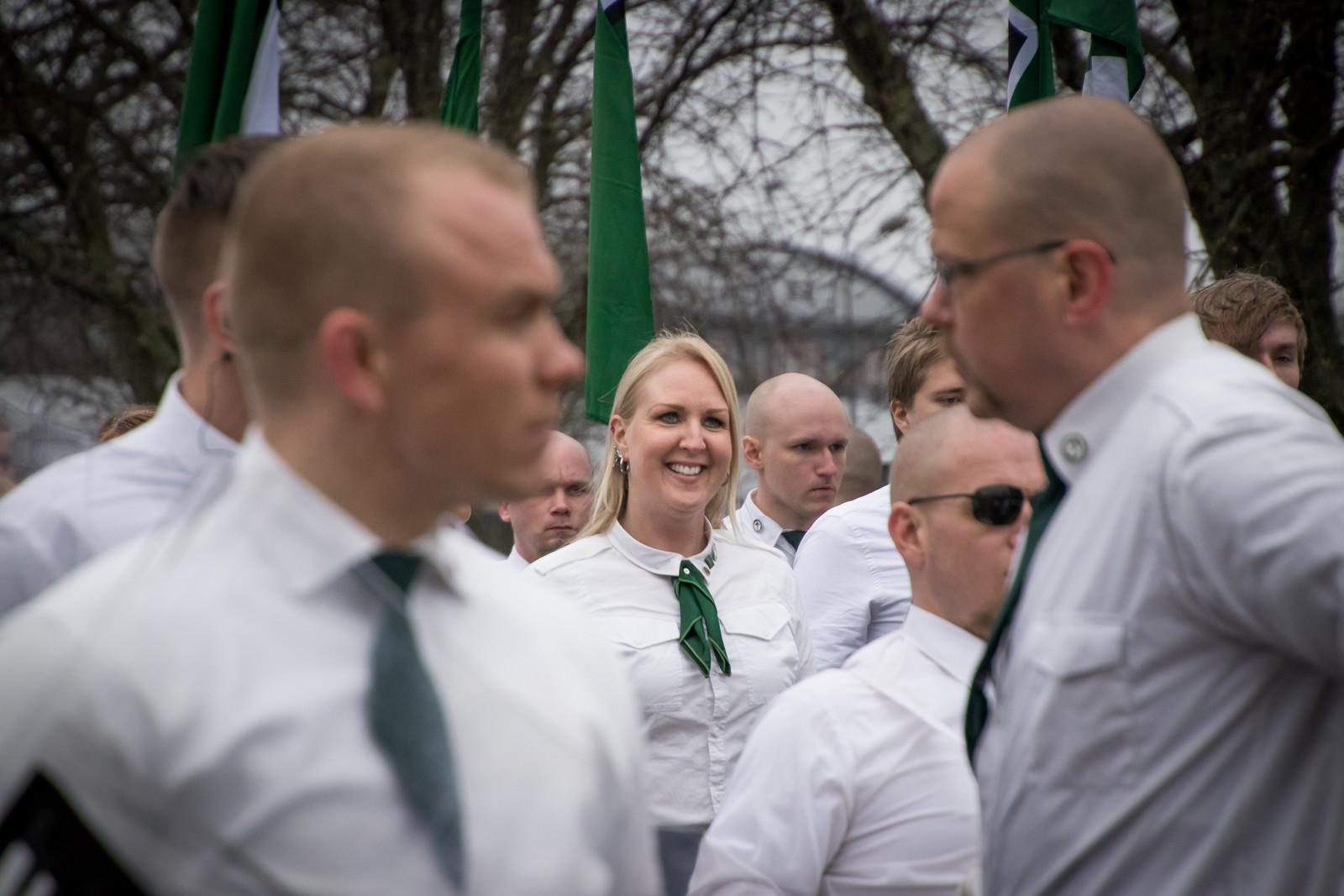 Tina Lund, 1:a maj 2018