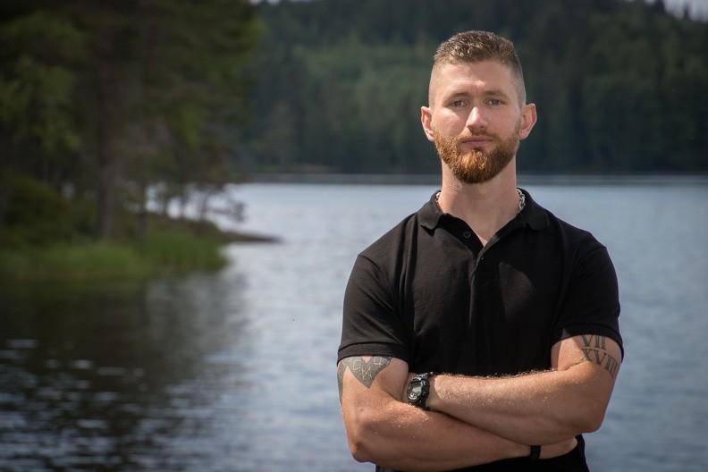 Mångåriga aktivisten Nicklas Norling, från Näste 5